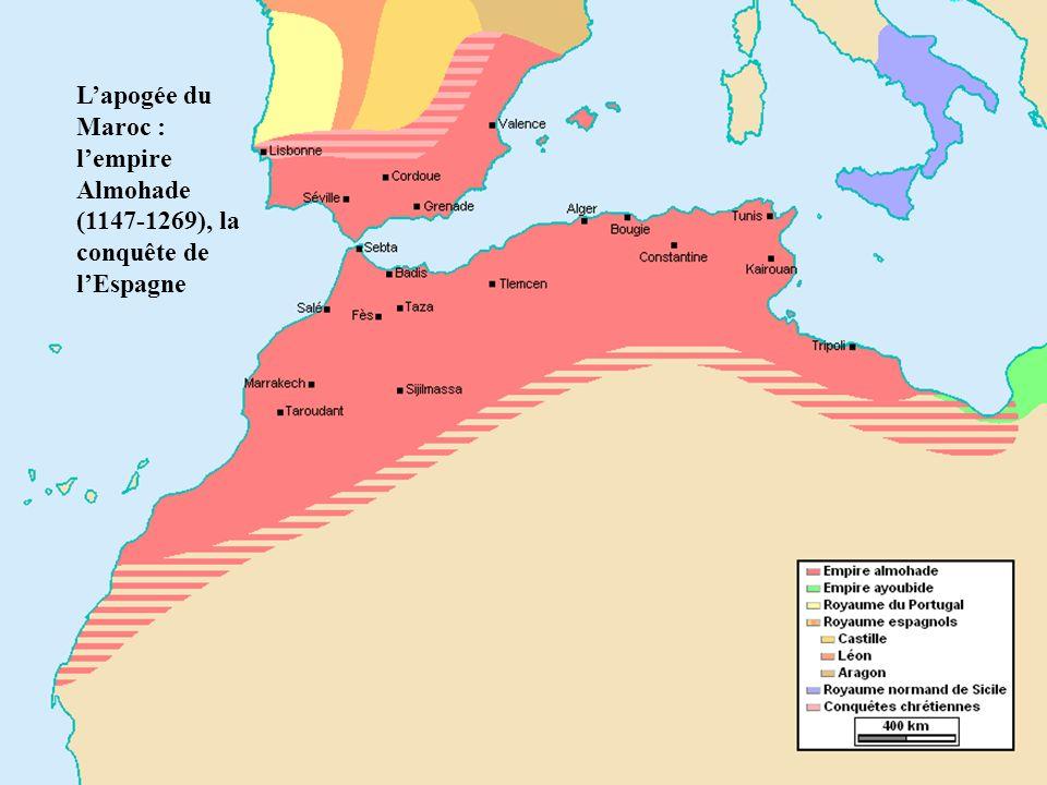 * L'apogée du Maroc : l'empire Almohade (1147-1269), la conquête de l'Espagne