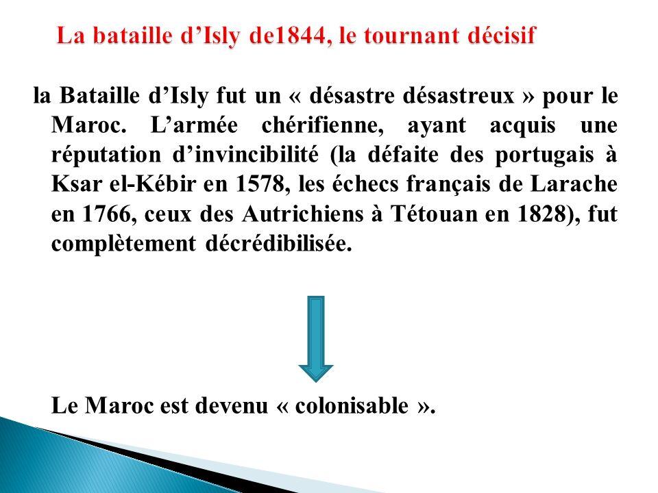 La bataille d'Isly de1844, le tournant décisif