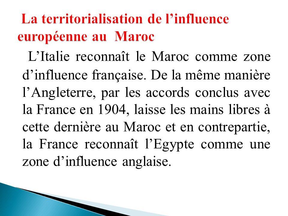 La territorialisation de l'influence européenne au Maroc