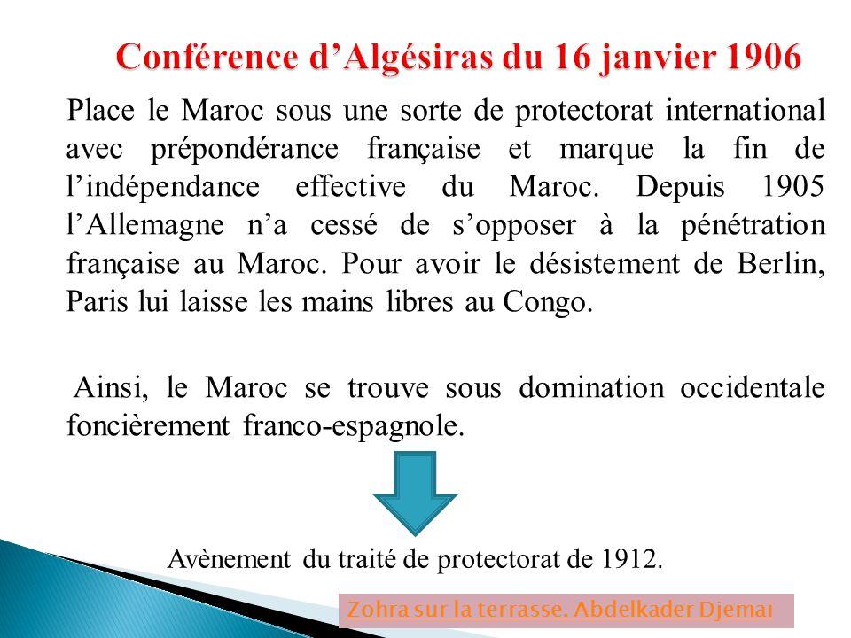 Conférence d'Algésiras du 16 janvier 1906