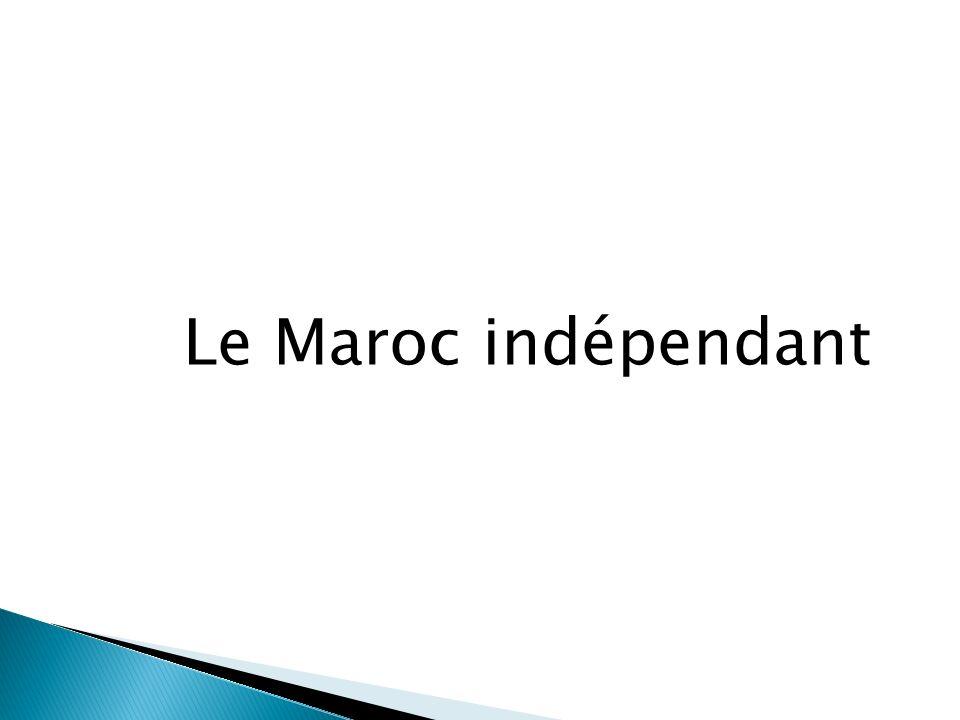 Le Maroc indépendant