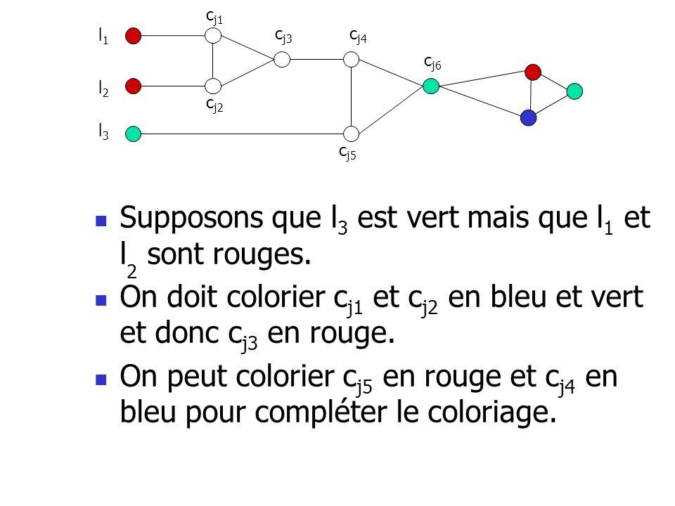 Supposons que l3 est vert mais que l1 et l2 sont rouges.