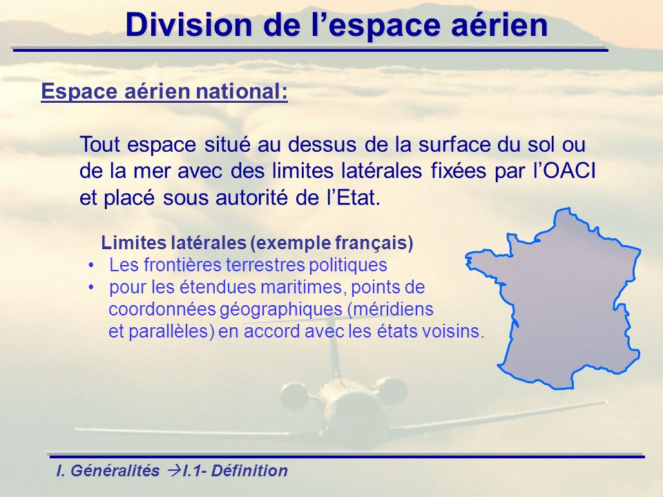Espace aérien national: