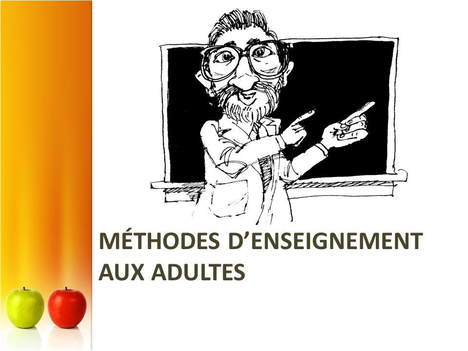 Méthodes d'enseignement aux adultes