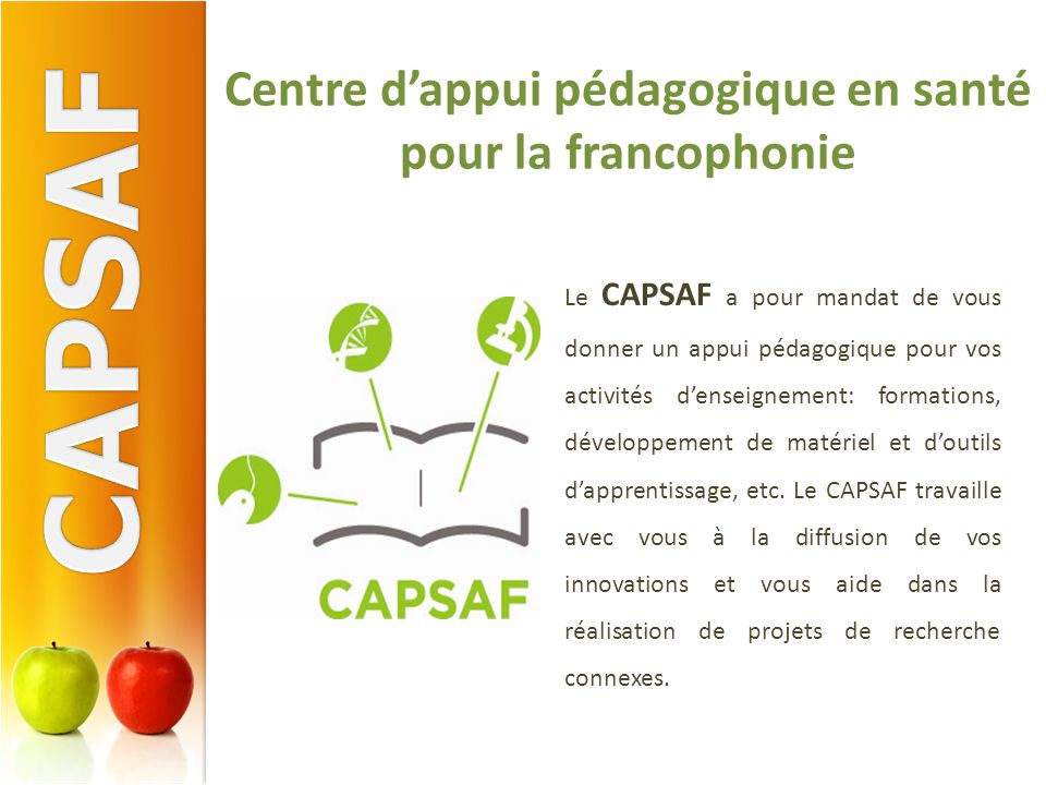 Centre d'appui pédagogique en santé pour la francophonie