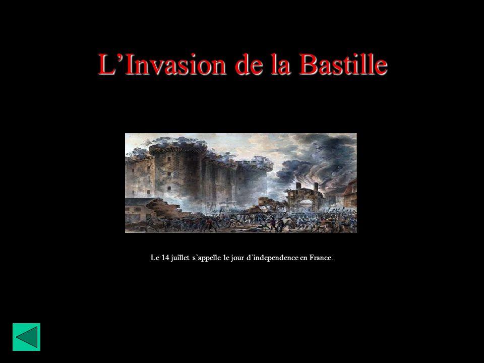 L'Invasion de la Bastille
