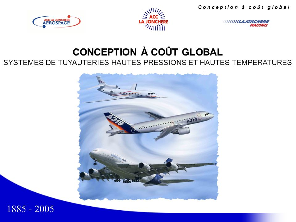 CONCEPTION À COÛT GLOBAL