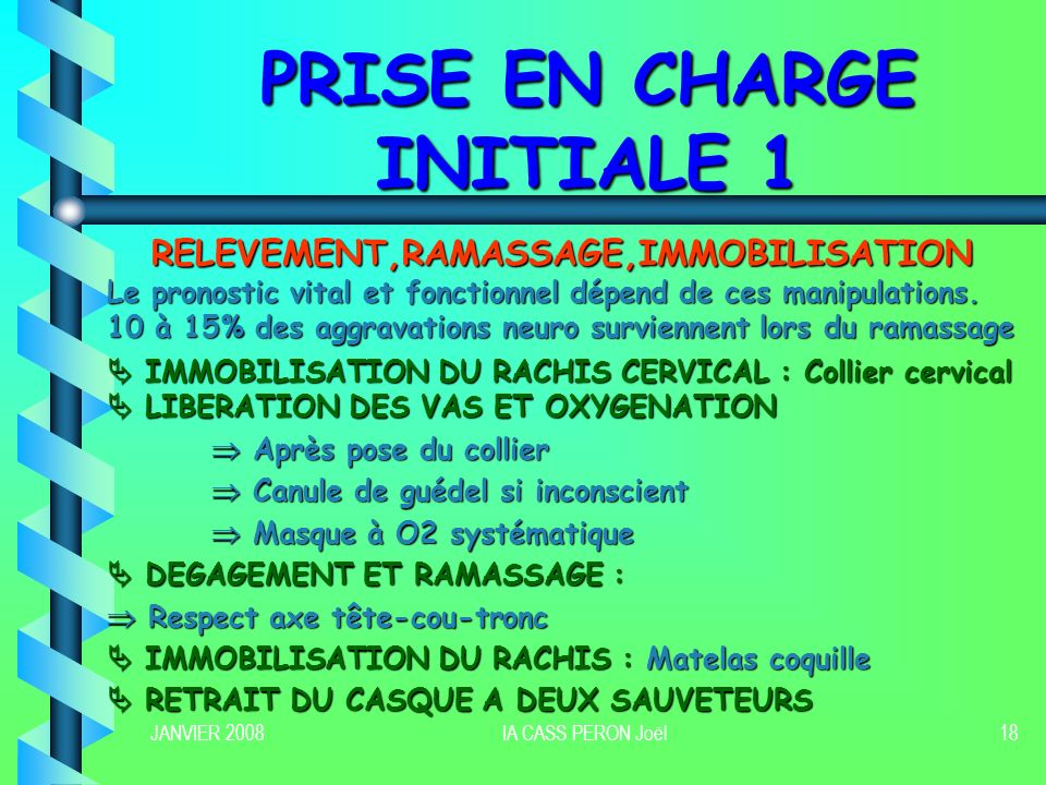 PRISE EN CHARGE INITIALE 1