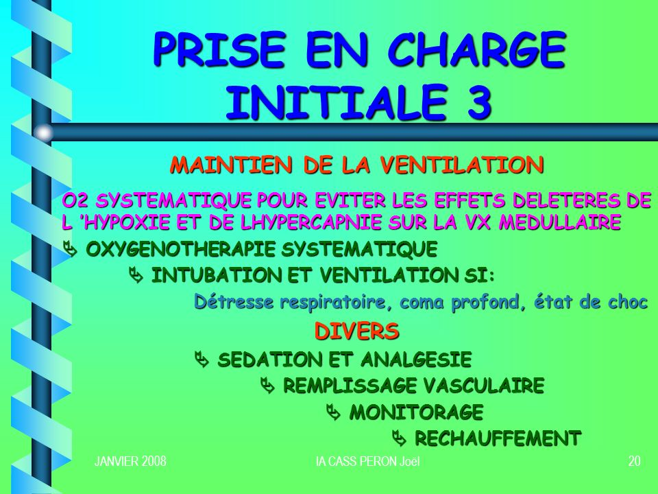 PRISE EN CHARGE INITIALE 3