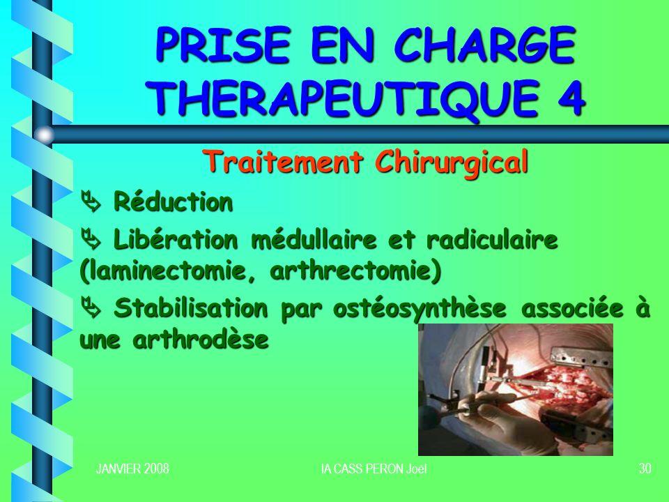 PRISE EN CHARGE THERAPEUTIQUE 4