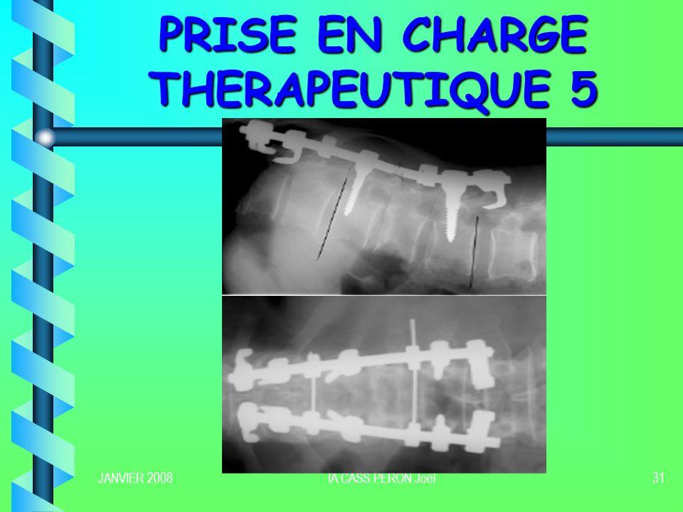 PRISE EN CHARGE THERAPEUTIQUE 5