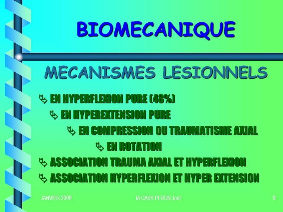 MECANISMES LESIONNELS