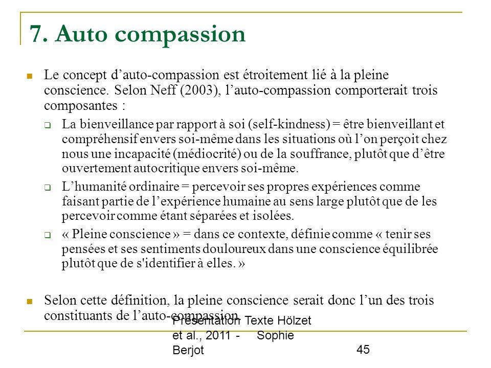 7. Auto compassion