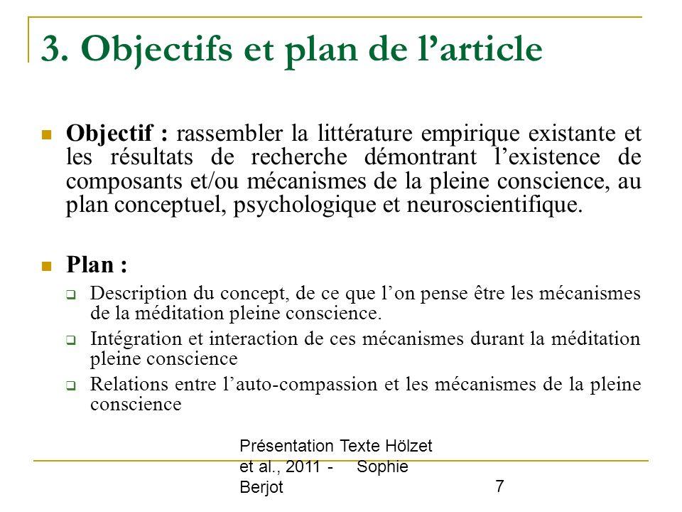 3. Objectifs et plan de l'article