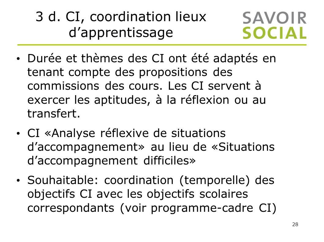 3 d. CI, coordination lieux d'apprentissage