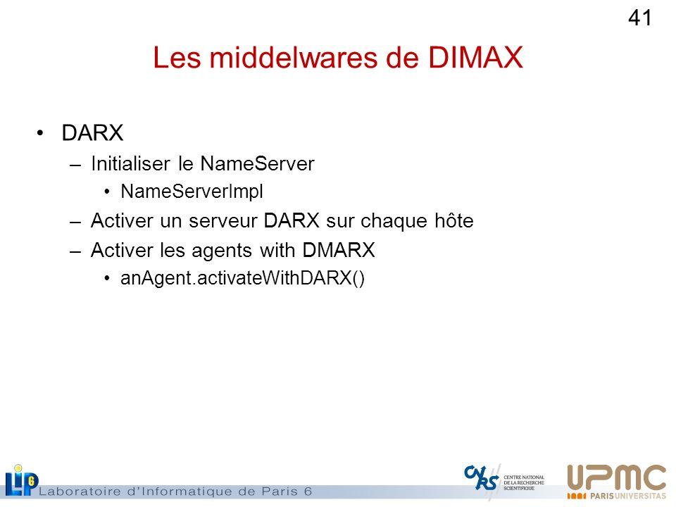 Les middelwares de DIMAX