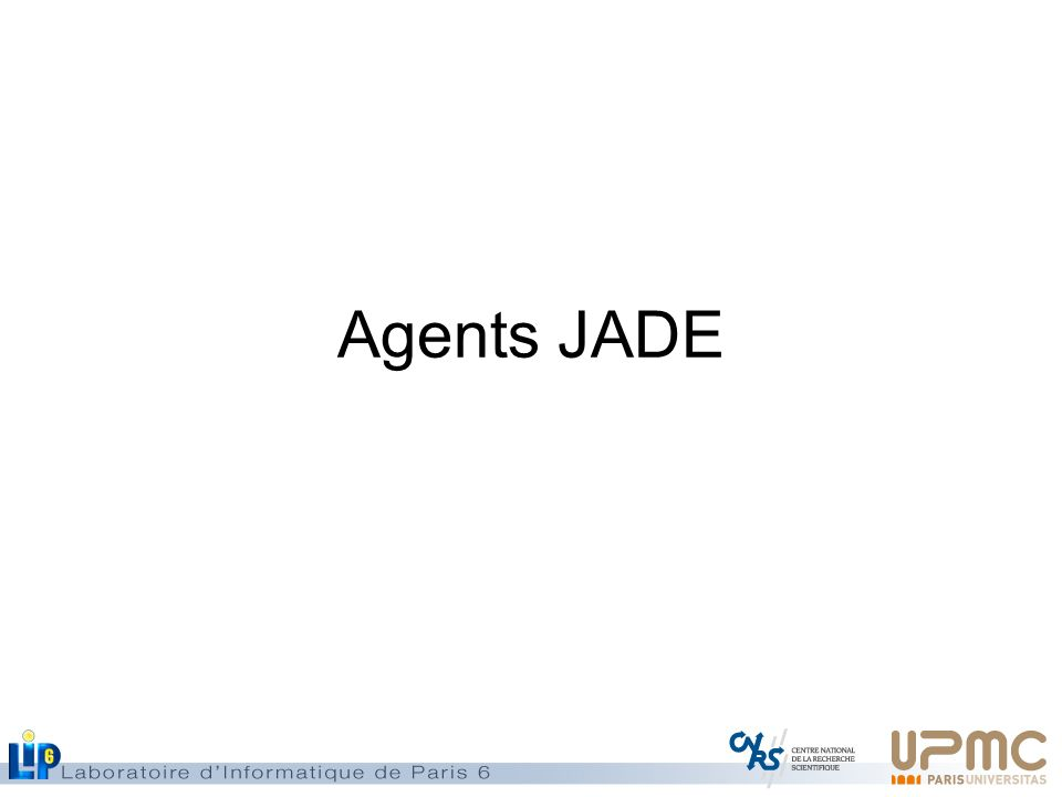Agents JADE