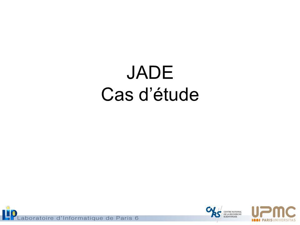 JADE Cas d'étude