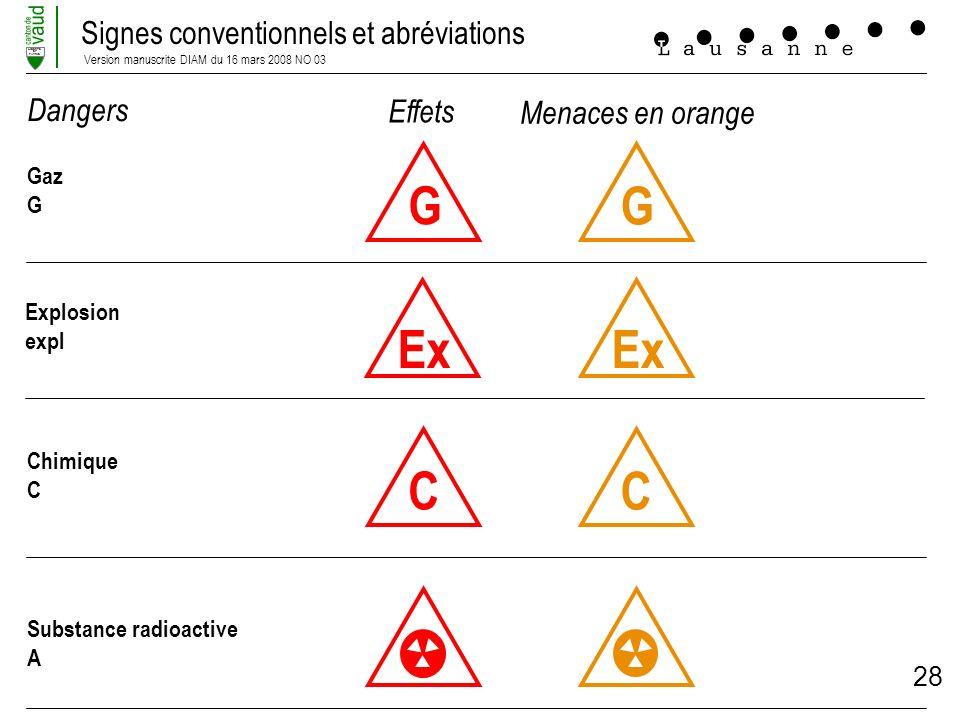 G G Ex Ex C C Dangers Effets Menaces en orange Gaz G Explosion expl