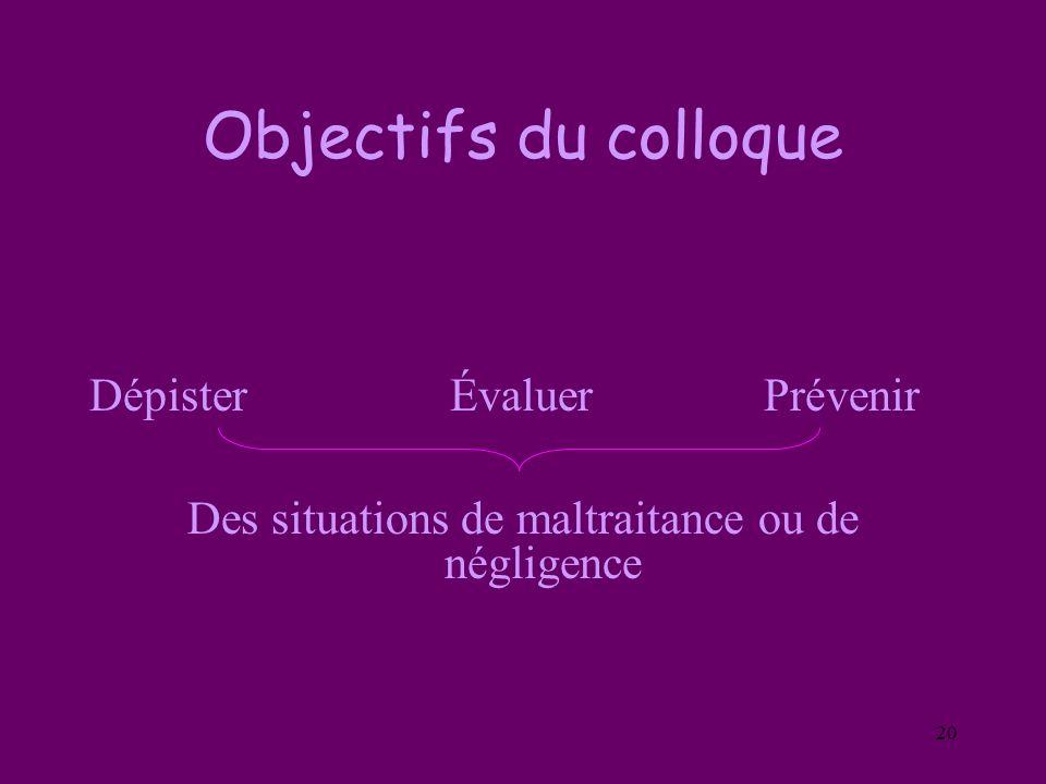 Des situations de maltraitance ou de négligence