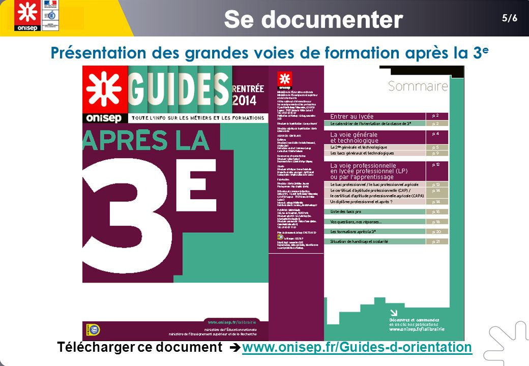 Télécharger ce document è www.onisep.fr/Guides-d-orientation
