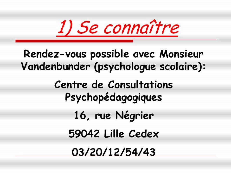 Centre de Consultations Psychopédagogiques