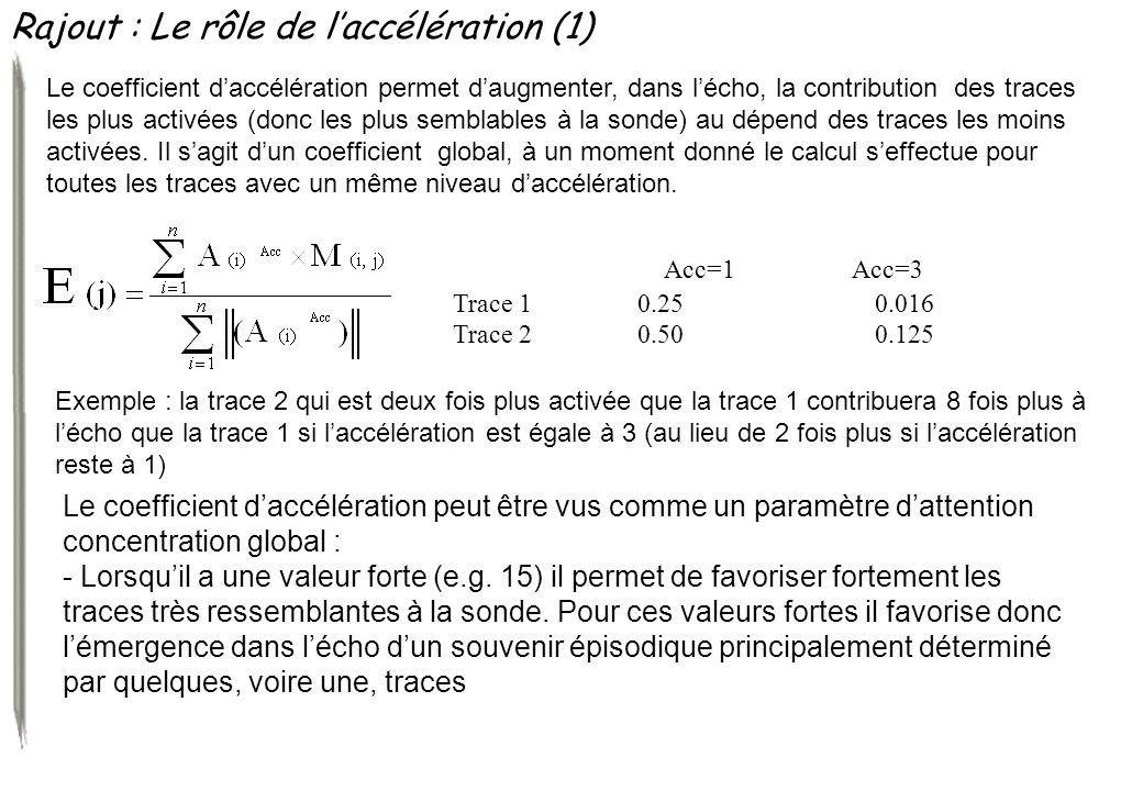 Rajout : Le rôle de l'accélération (1)