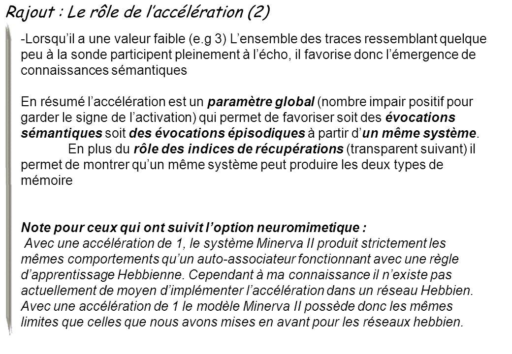 Rajout : Le rôle de l'accélération (2)