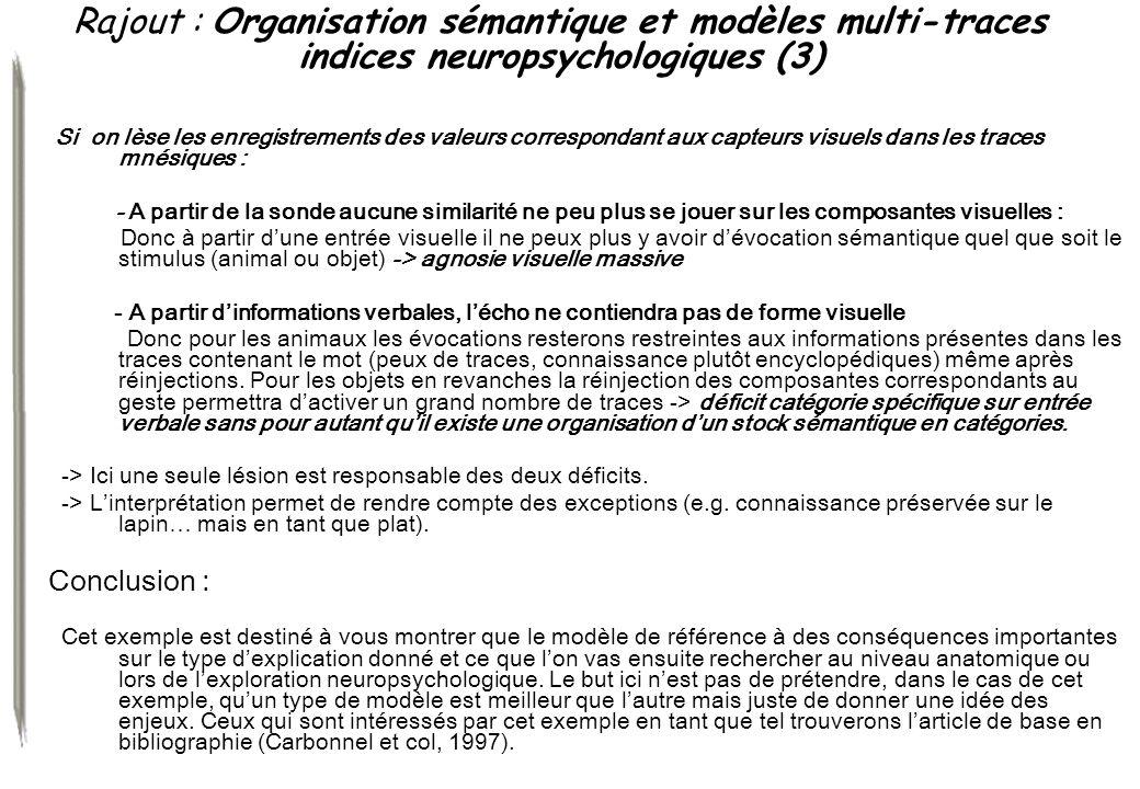 Rajout : Organisation sémantique et modèles multi-traces indices neuropsychologiques (3)