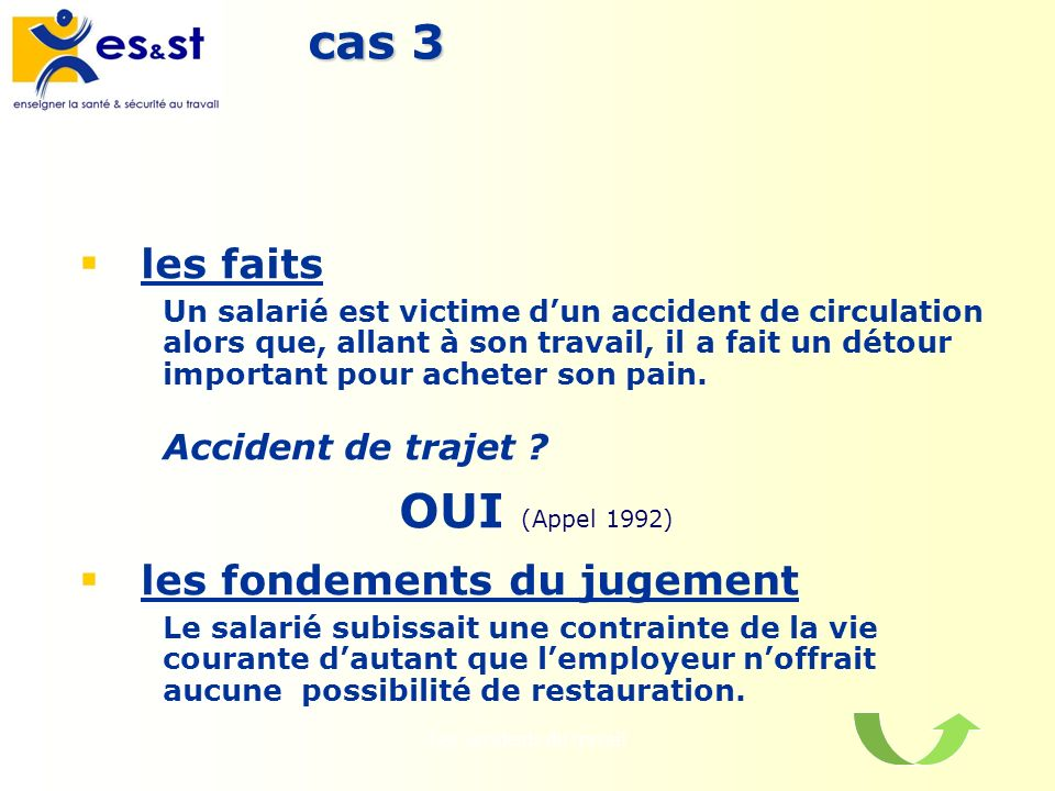 les accidents du travail pdf