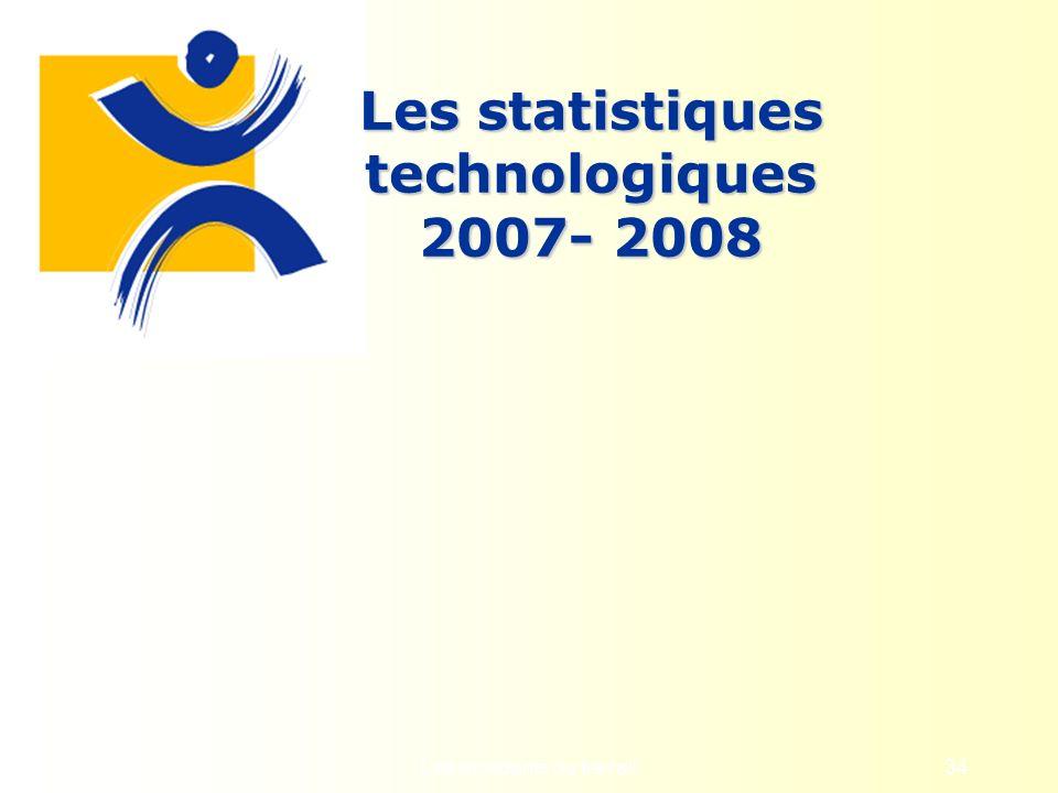Les statistiques technologiques 2007- 2008