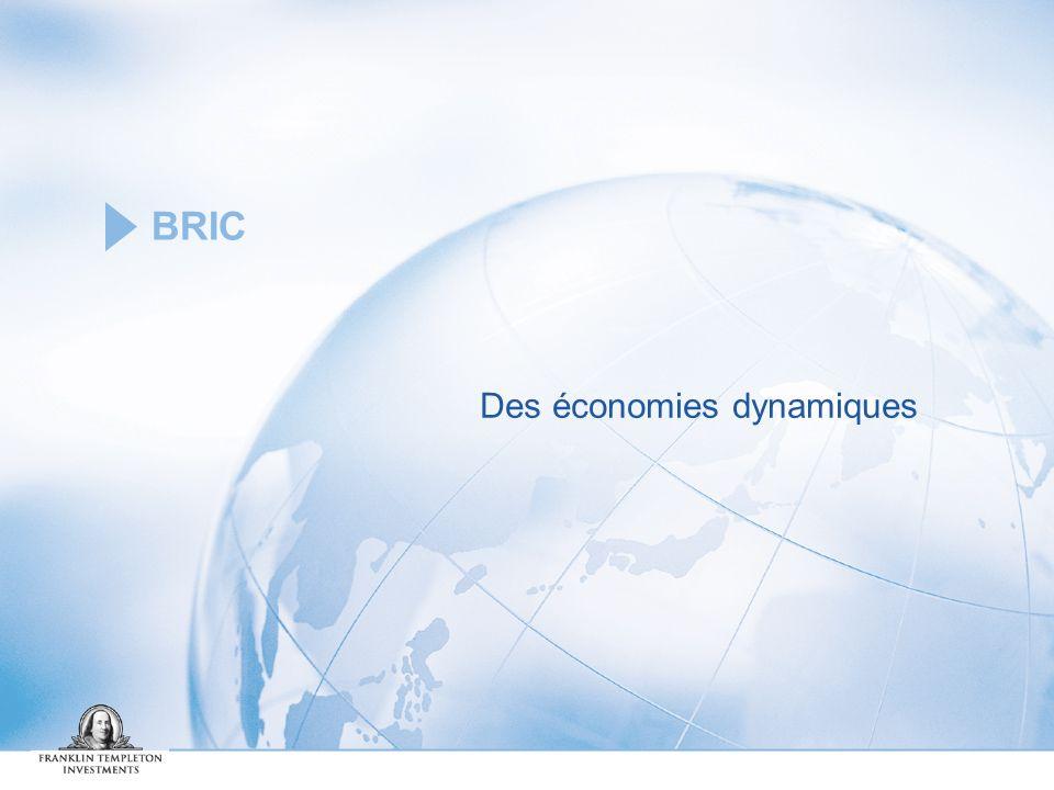 Des économies dynamiques