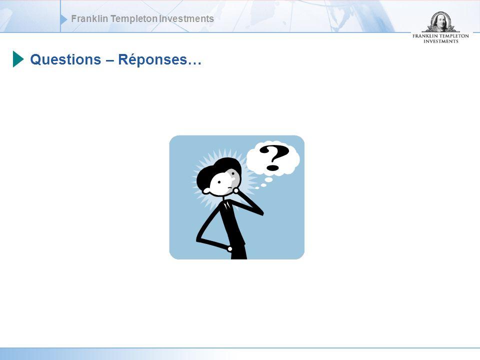 Questions – Réponses…
