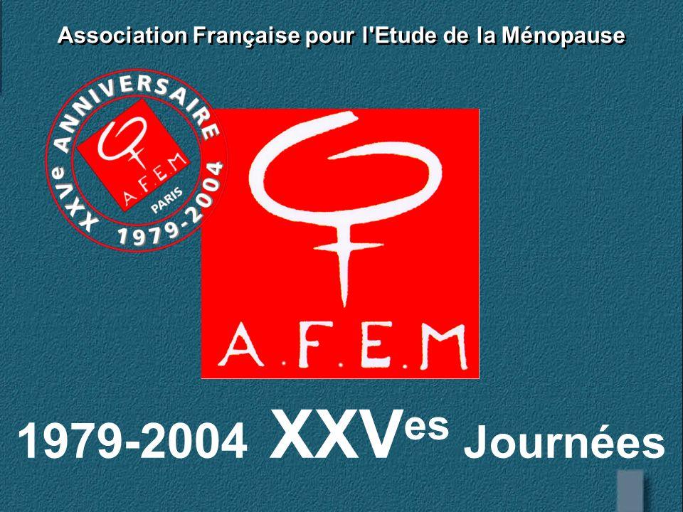 Association Française pour l Etude de la Ménopause