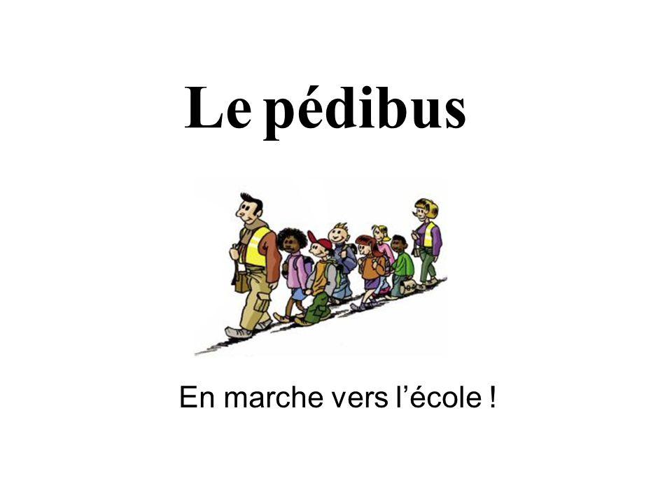 Le pédibus En marche vers l'école !