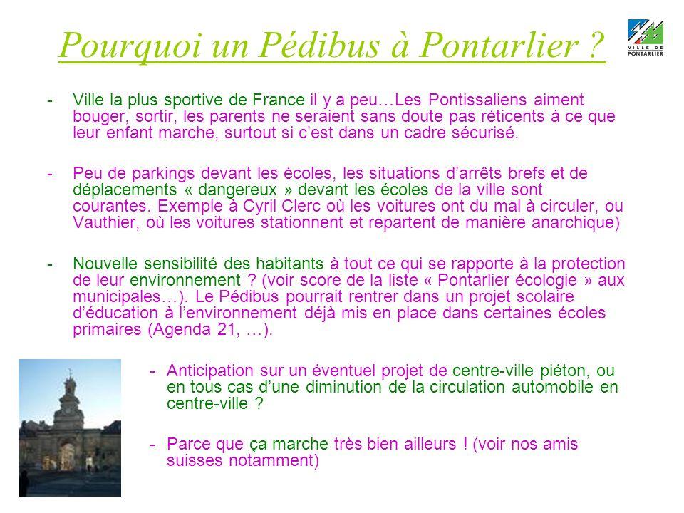 Pourquoi un Pédibus à Pontarlier