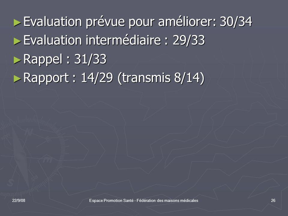Espace Promotion Santé - Fédération des maisons médicales