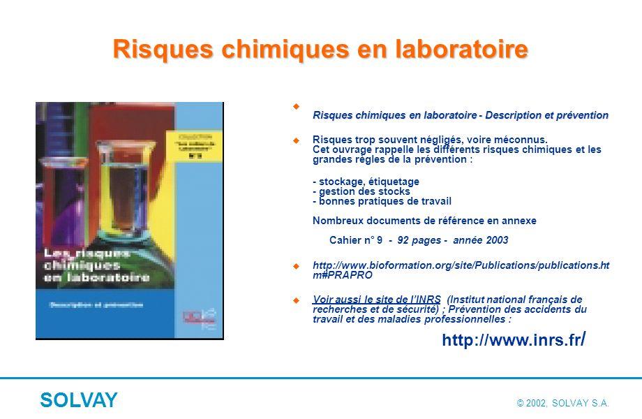 La conception des laboratoires de chimie