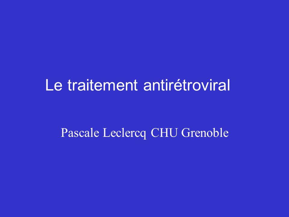 Le traitement antirétroviral