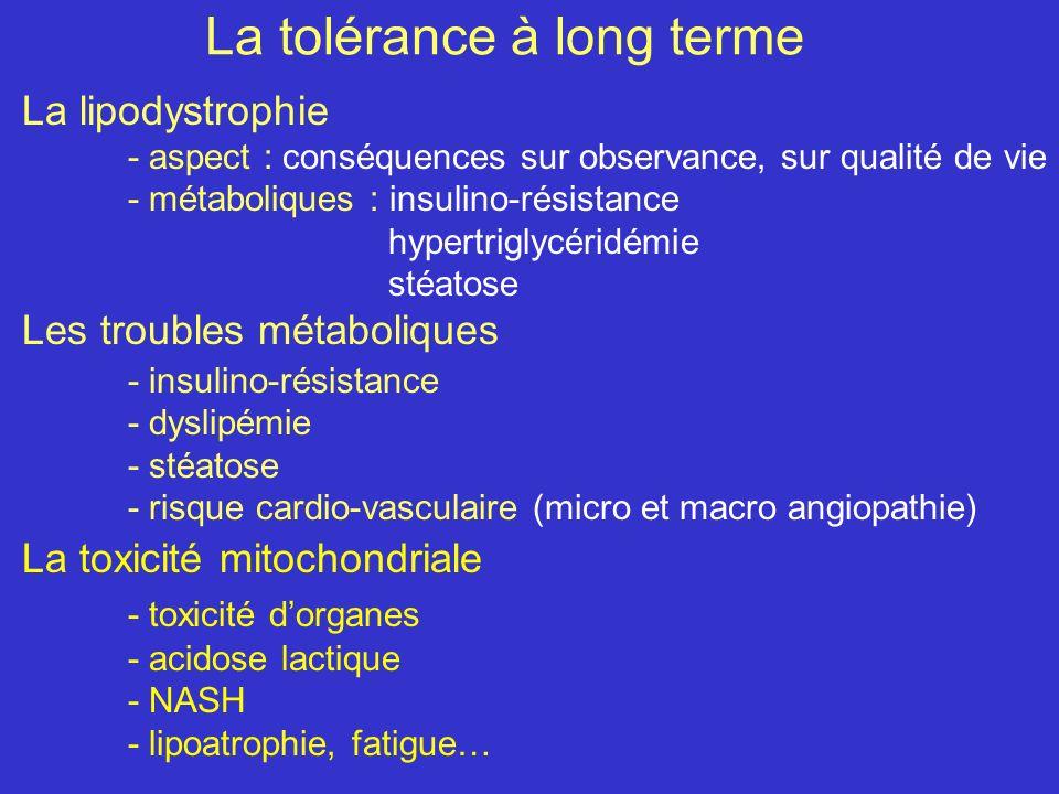 La tolérance à long terme