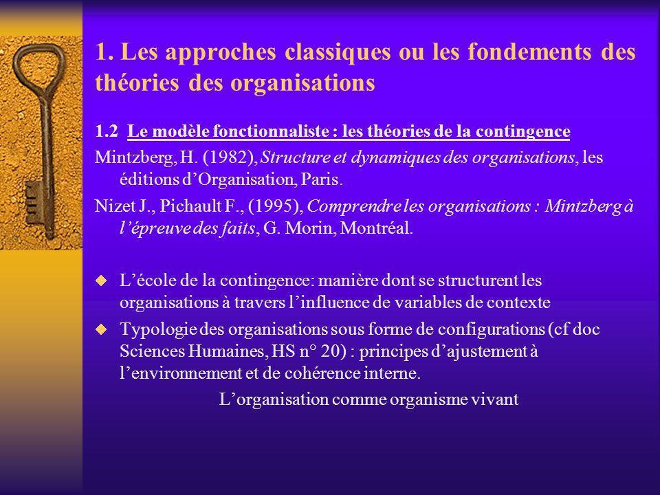 L'organisation comme organisme vivant
