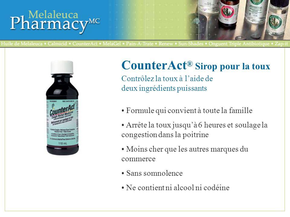 CounterAct® Sirop pour la toux
