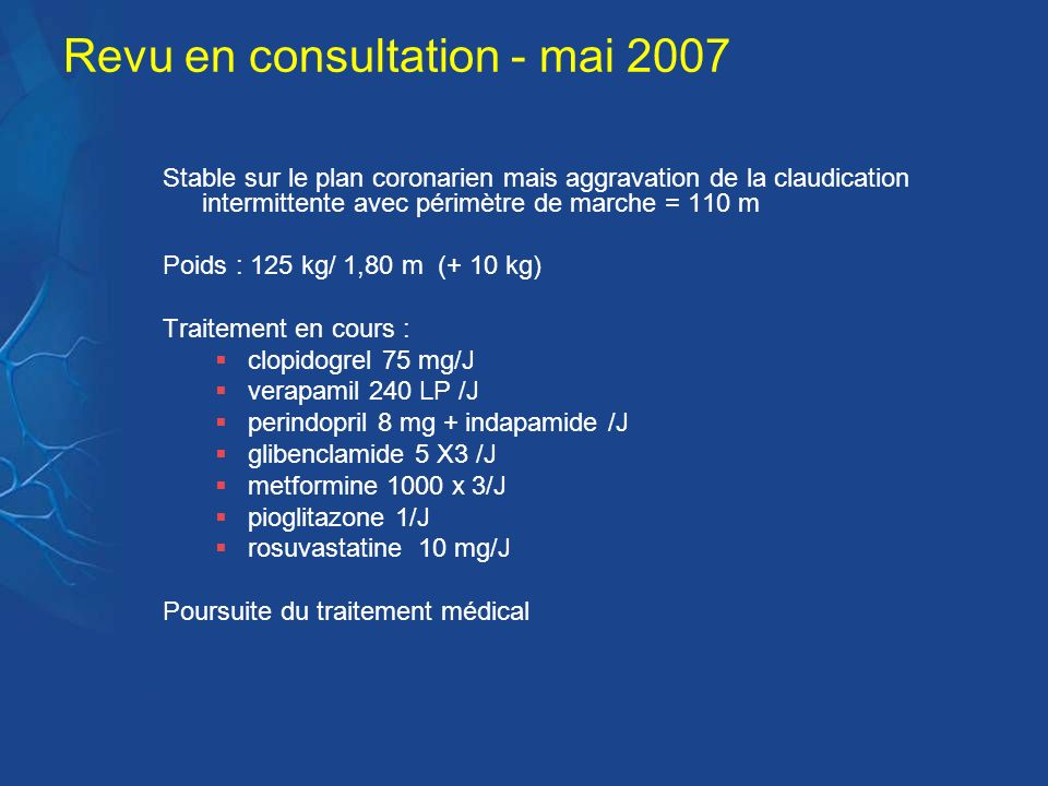 Revu en consultation - mai 2007