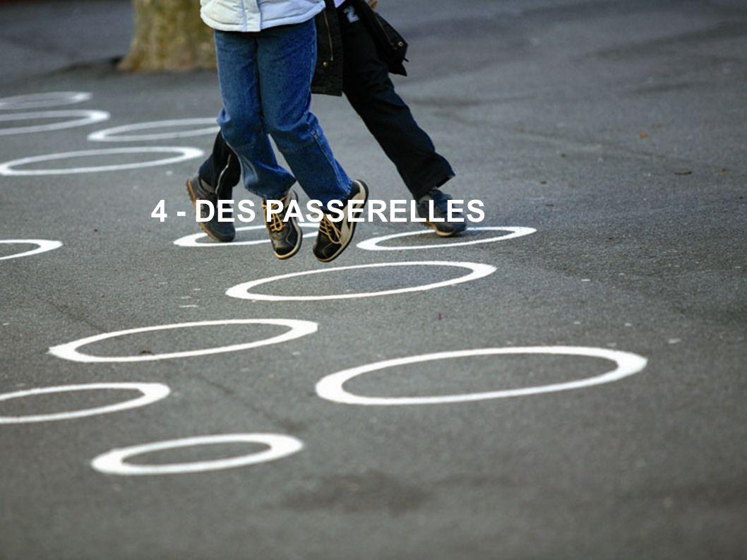 4 - DES PASSERELLES