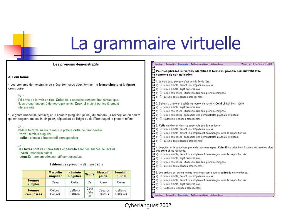 La grammaire virtuelle