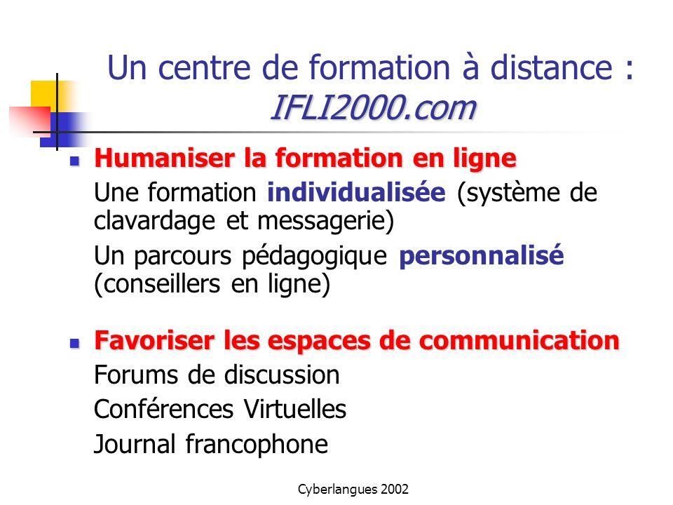 Un centre de formation à distance : IFLI2000.com