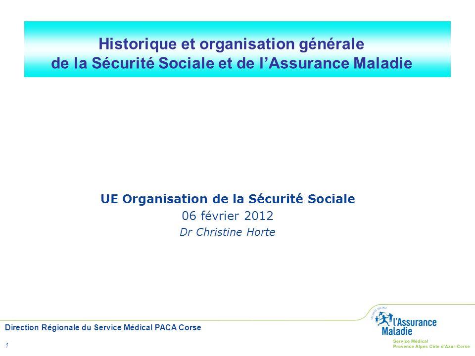 UE Organisation de la Sécurité Sociale