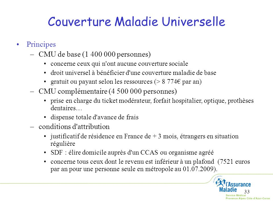 Couverture Maladie Universelle