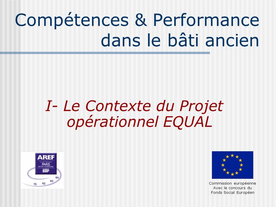 Compétences & Performance dans le bâti ancien