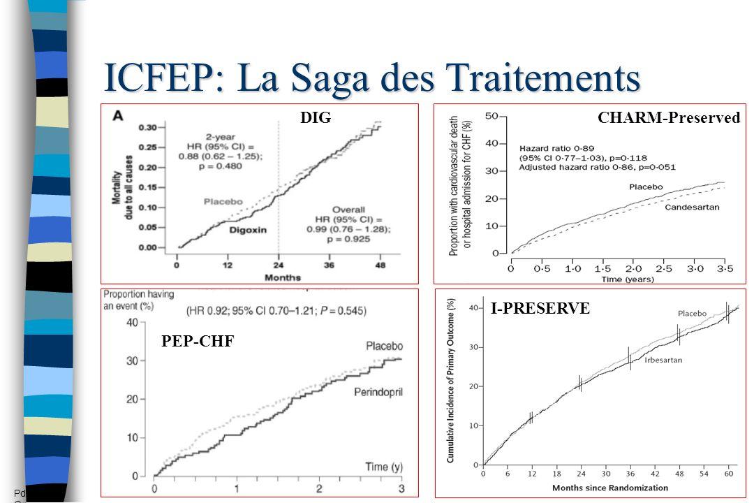 ICFEP: La Saga des Traitements